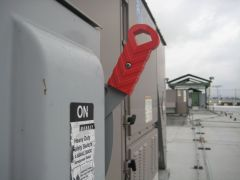Commercial HVAC Unit: Main Power Switch, Graves Heating and Air, Rosa Media Productions